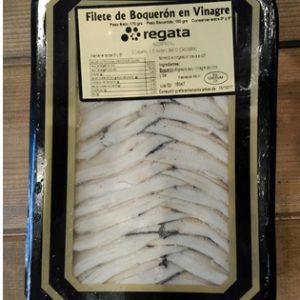 White anchovies in vinegar