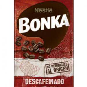 Café descafeinado Bonka tueste natural – Ground Coffee Decaf  Natural Roast 250g
