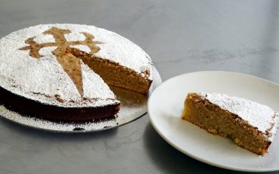 St James Cake (Tarta de Santiago), A Traditional Spanish Cake Gluten-Free and Dairy-Free