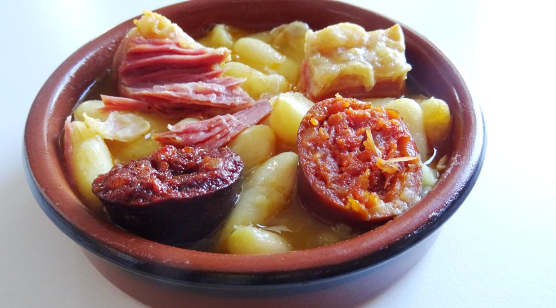 Asturian Fabada recipe, and a bit of Asturian beans literacy