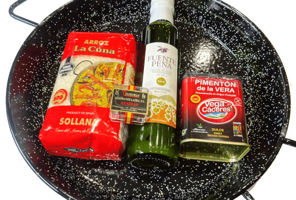 Paella Kit – the perfect antidote to grey winter days