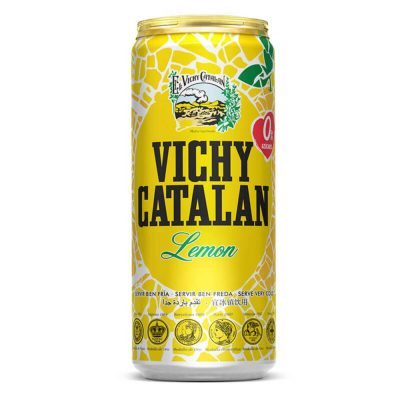 Vichy Catalan Lemon Can 330ml
