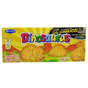 Dinosaurus biscuits 185g
