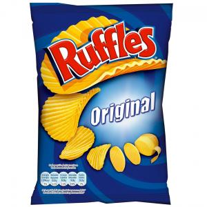 Lays Original Ruffles Crisps 170g