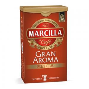 Café Marcilla mezcla – Ground Mixed Coffee Marcilla 250g