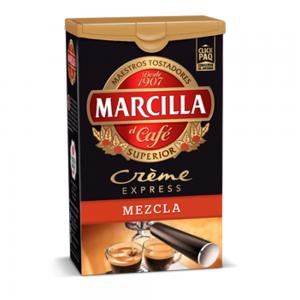 Creme Express Mixed Coffee Marcilla – Café Marcilla Creme Express Mezcla 250g