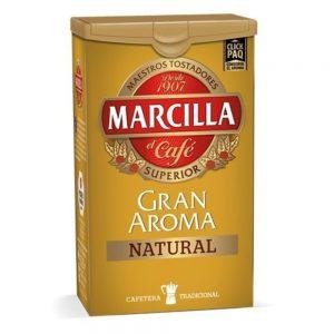 Café Marcilla Tueste Natural- Ground Natural Roast Coffee Marcilla 250g