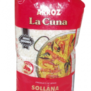 La Cuna Paella Rice – Arroz Redondo 1Kg