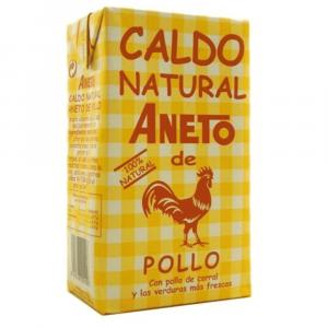 Caldo de pollo Aneto 1L – Spanish Chicken Broth