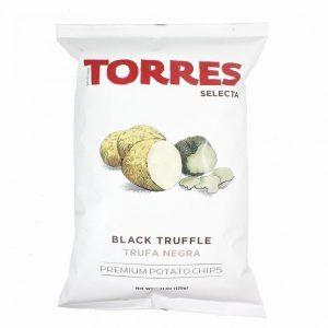 Black Truffle Crisps Torres – Patatas a la trufa negra 40g