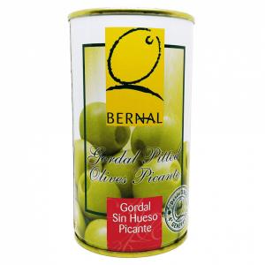 Bernal Spicy gordal (queen) olives 350g