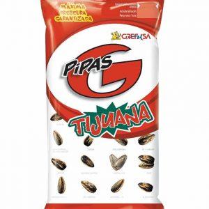 Pipas Tijuana Grefusa Tijuana sunflower seeds 165g