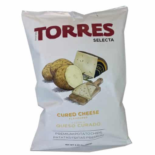 Cured cheese crisps