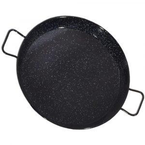 Enamelled Steel Paella Pan 30cm