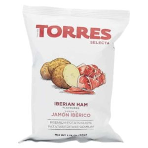 Torres Ibérico Ham Potato Crisps 50g