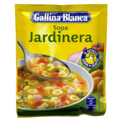 gallina blanca vegetables