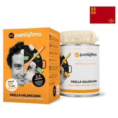 Paella valenciana kit
