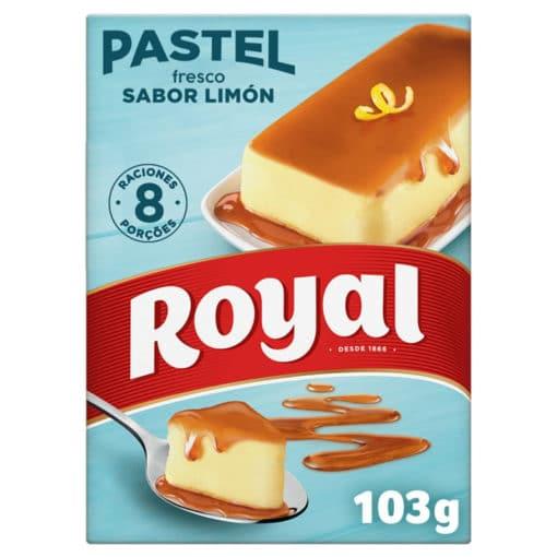 pastel limon royal