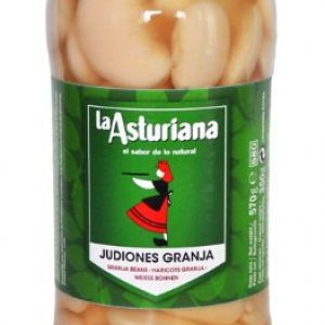 Spanish Cooked Giant Butter Beans: Judiones Granja 570g